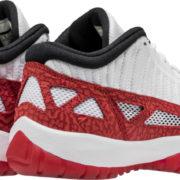 Air Jordan 11 Low IE White Red 919712 101 5