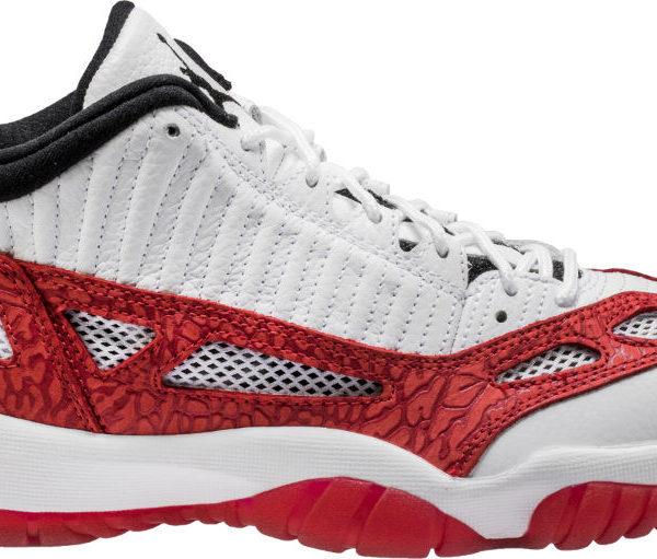 Air Jordan 11 Low IE White Red 919712 101
