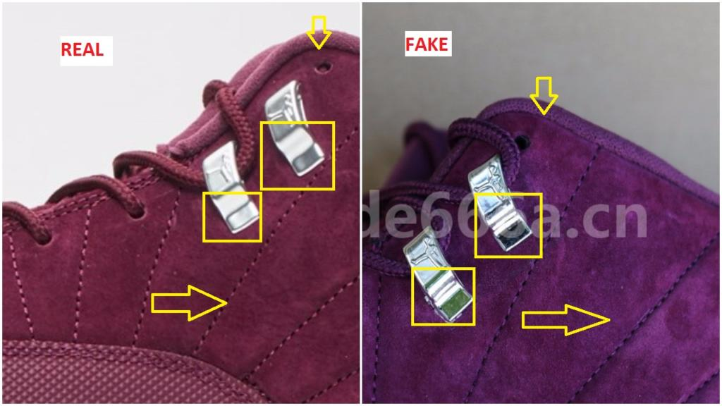 online retailer 030bd 65e72 Fake Air jordan 12 Bordeaux 130690-617 3 – Housakicks