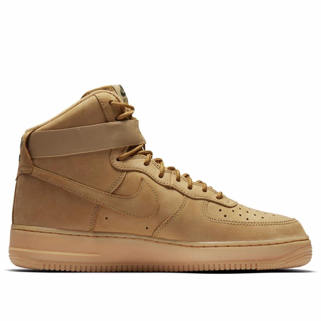 9c4d8a4d Buy It Now Nike Air Force 1 High Wheat Flax 882096-200 – Housakicks