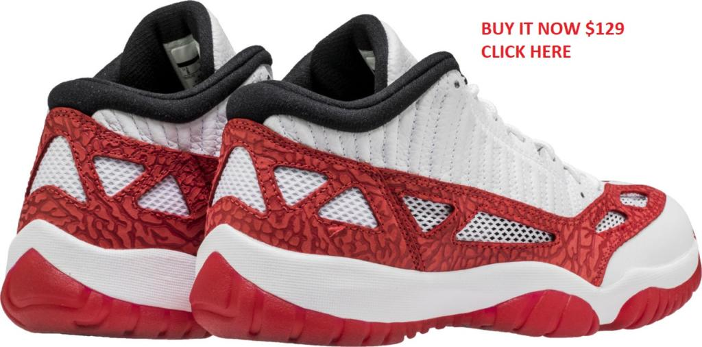 7b96c5781596 Air Jordan 11 Low IE Gym Red 919712 101 1