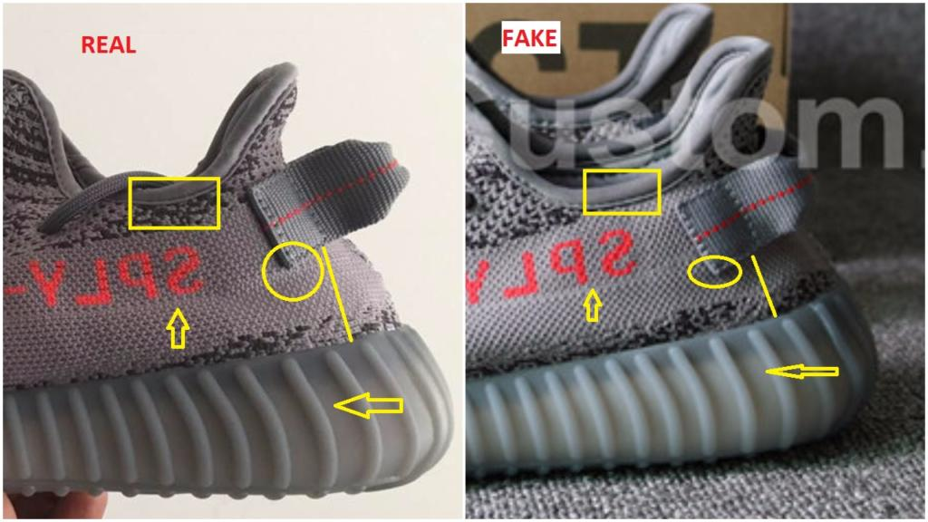 c26ba2d5895 Fake Adidas Yeezy 350 V2 Beluga 2.0 Spotted-Quick Ways To Identify ...