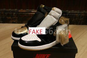 sale retailer 5d4be 62196 Fake Air Jordan 1 Retro High Gold Top 3 Union LA ComplexCon ...