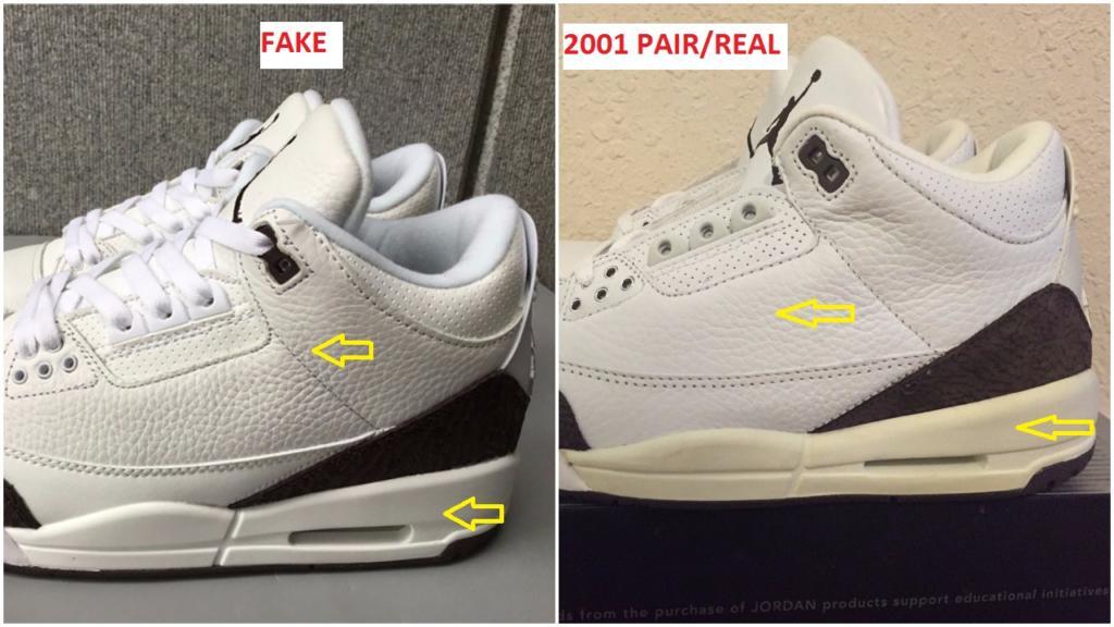 The Fake Air Jordan 3 Mocha Is Already Out- Beware – Housakicks