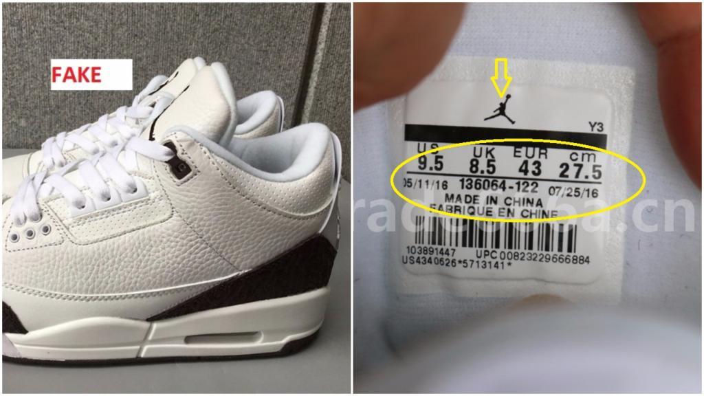 new style 92bd9 a333a The Fake Air Jordan 3 Mocha Is Already Out- Beware – Housakicks