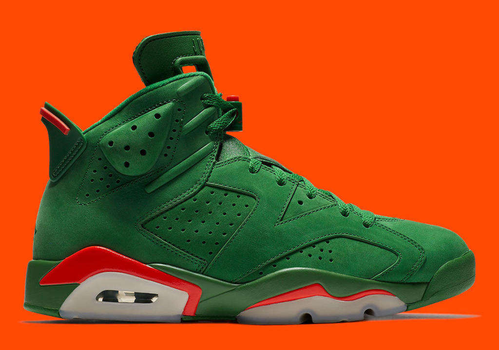 9c3fcbb4194 Men's Air Jordan Retro 6 Gatorade Green NRG New
