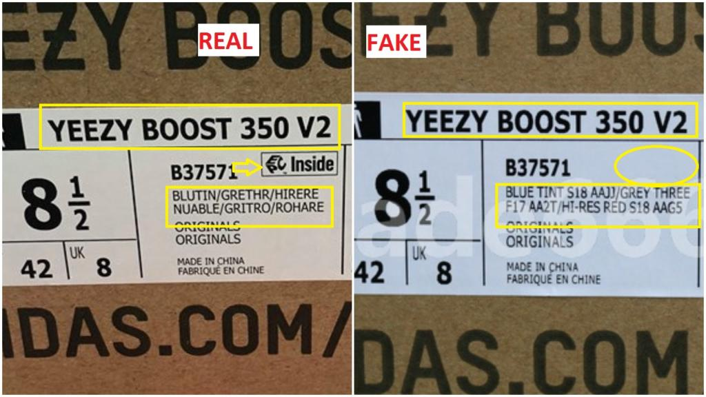 772ff6c22 Fake Adidas Yeezy 350 boost v2 blue tint B37571 11 – Housakicks