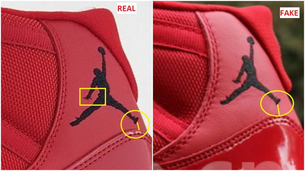 Jordan Shoe Size Tag