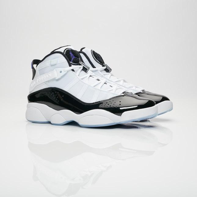 size 40 fe2b6 03bda Buy It Now |Air Jordan 6 Rings White Dark Concord 322992-104 ...