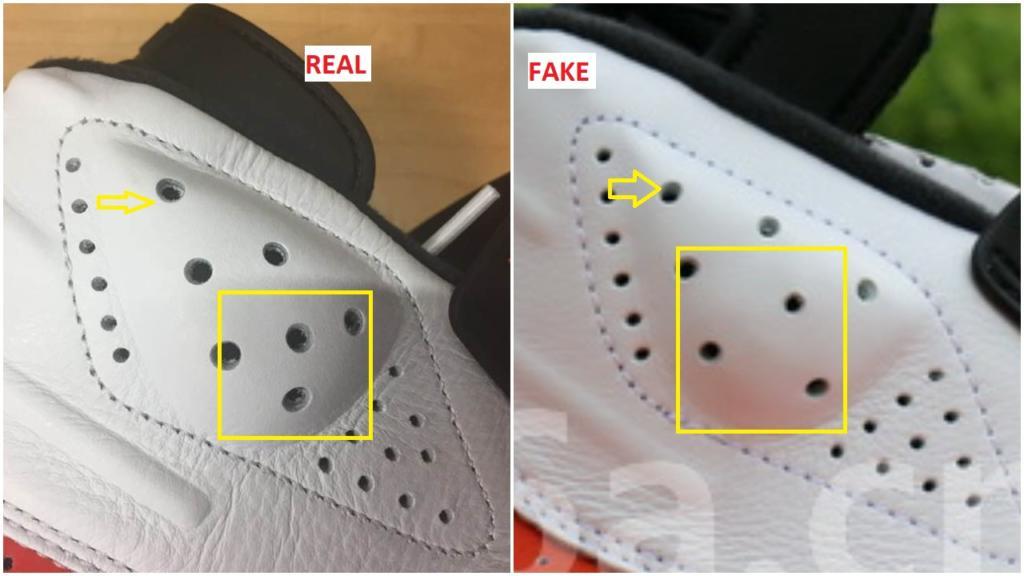 outlet store 6ea8f 2c6e7 Fake Air Jordan 6 White Orange Spotted- Quick Ways To ...