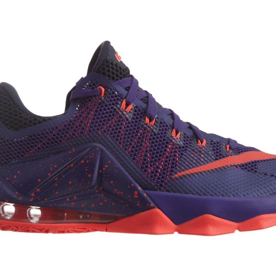 01e08e9252f Men s Nike Lebron 12 XII Low Purple Crimson 724557-565