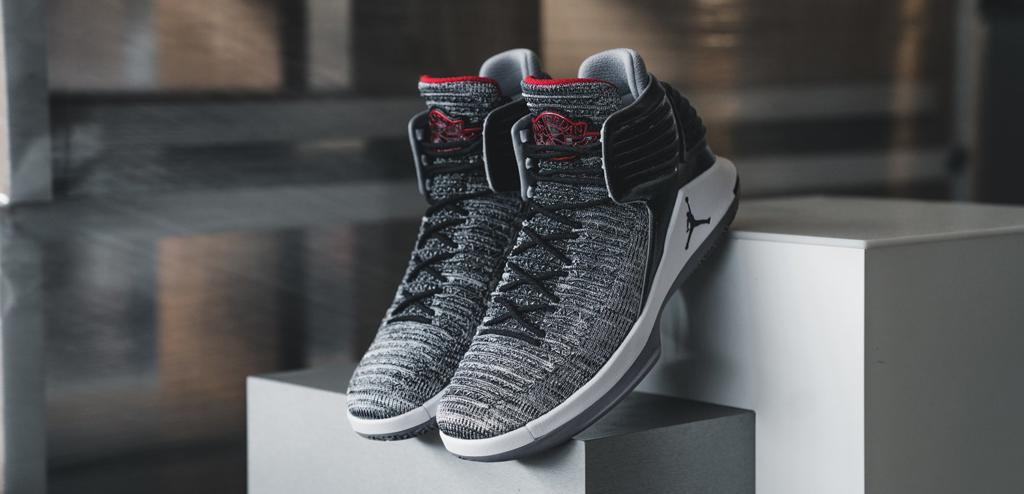 af1d40c5391 Buy It Now | Air Jordan XXXII 32 MVP Black Cement – Housakicks