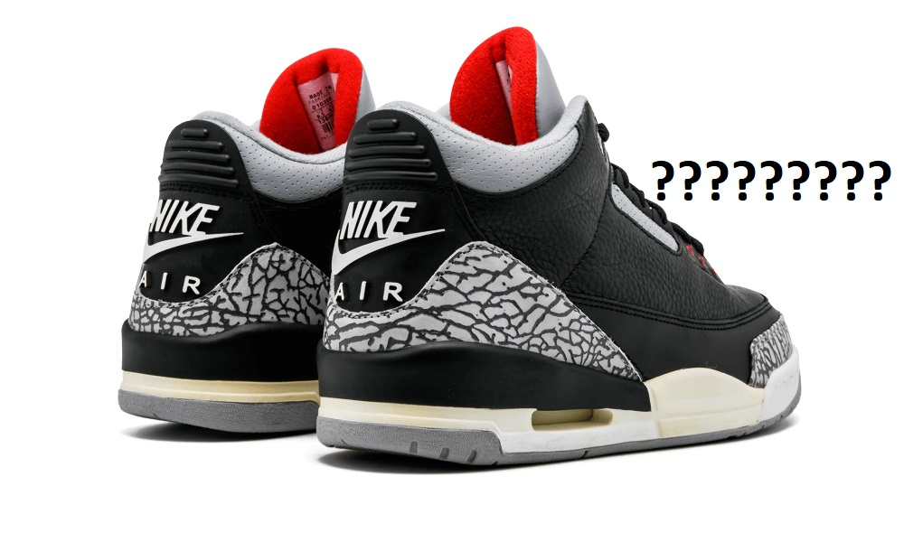7457764826a4 How Many Pairs Of The Black Cement Air Jordan 3 Were Produced ...