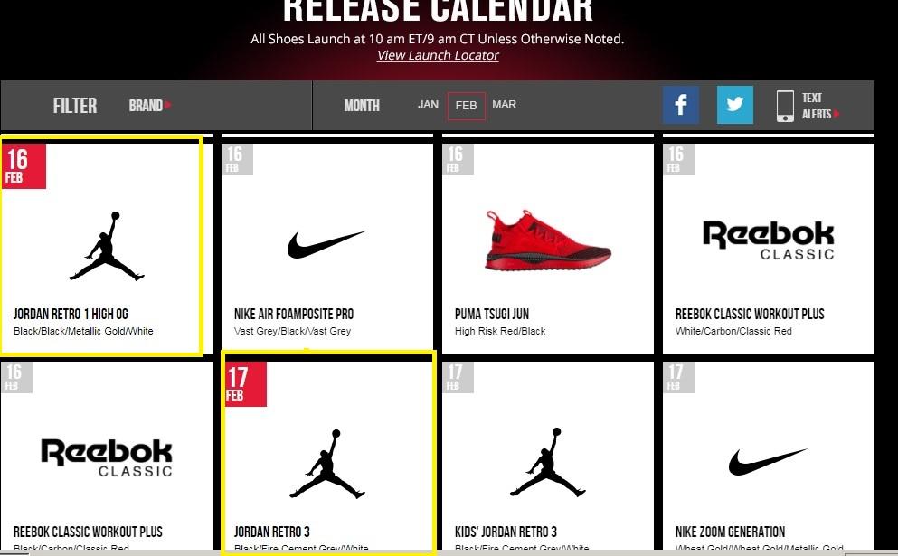 f528fa9a9 Footlocker release calendar Air Jordan 1 All Star Gold Toe 1 ...