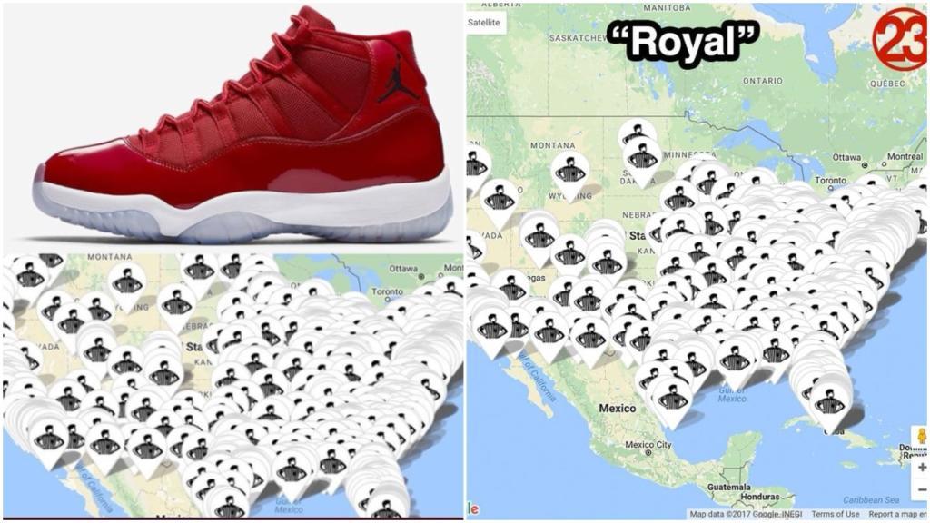 Footlocker release calendar Air Jordan 1 All Star Gold Toe 3 ...