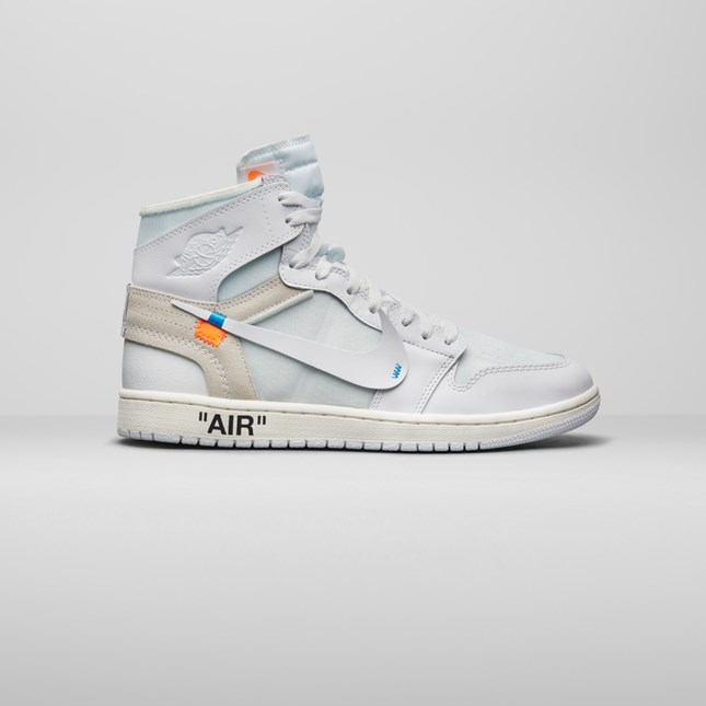 Air Jordan 1 X Off Enchères Ebay Blanc 100% original cChrbDv