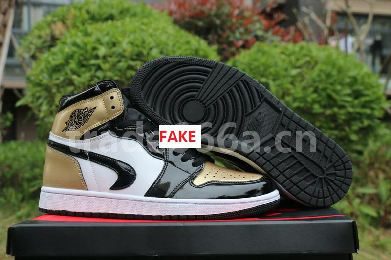 timeless design fcb7e ece66 Even Bootlegging Cosmetically Flawed Retros   Fake Air Jordan 1 Gold Toe  Prime