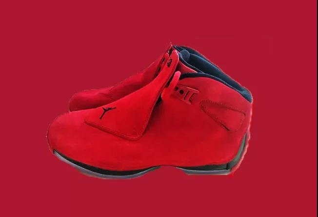 8b4a31ee471e64 Air Jordan XVIII 18 Toro