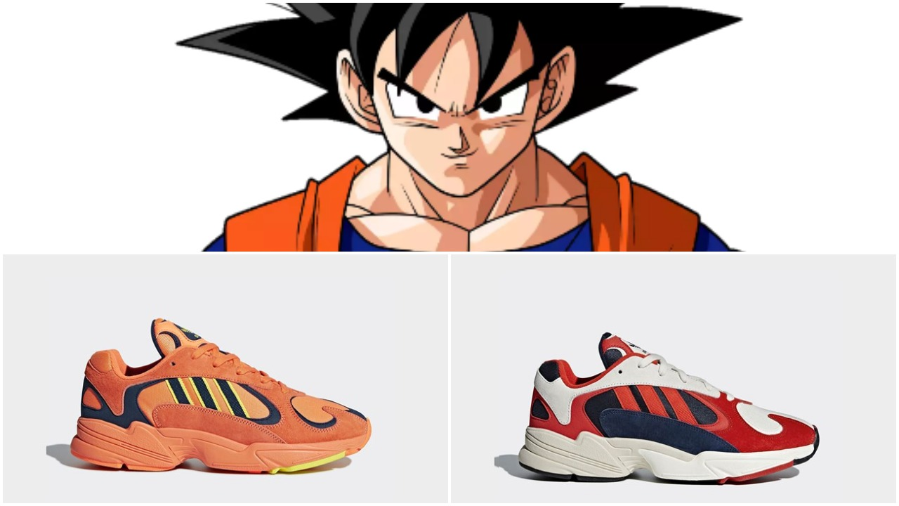6d31940697f9 Adidas Yung 1 Orange Goku   Core Black
