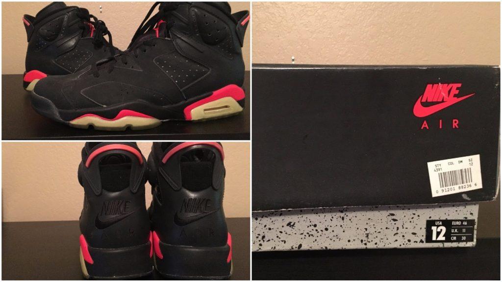 Air Jordan 6 Black Infrared To Return With The OG Nike Air Logo 93c622408
