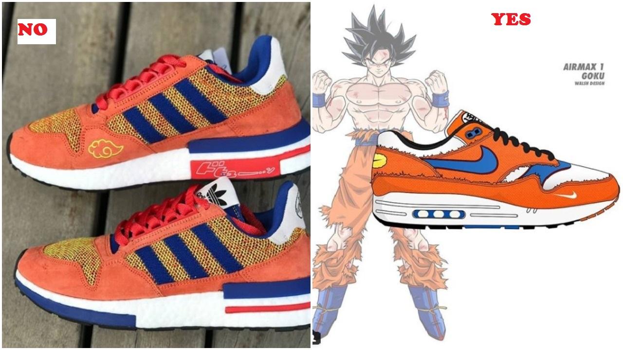 the latest 48eac f5c3a Goku Would Burn The Adidas ZX 500 RM With Kamehamehaaaaaaaa