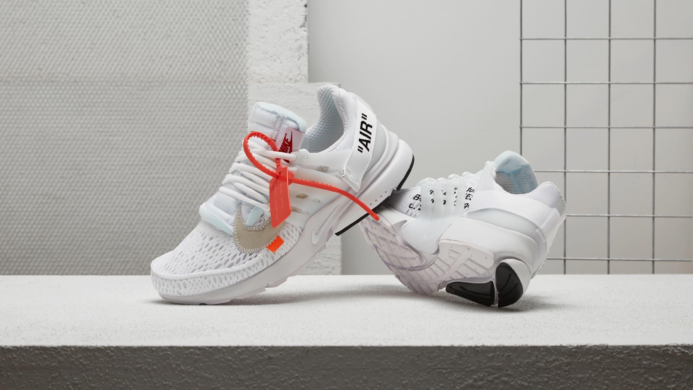 Off White X Nike Air Presto White AA3830-100  2264b79fe