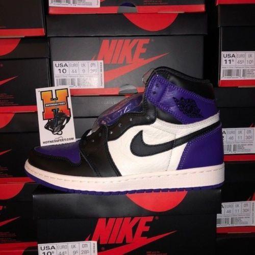 aa293b157dcb Air Jordan 1 High OG Court Purple 555088-501