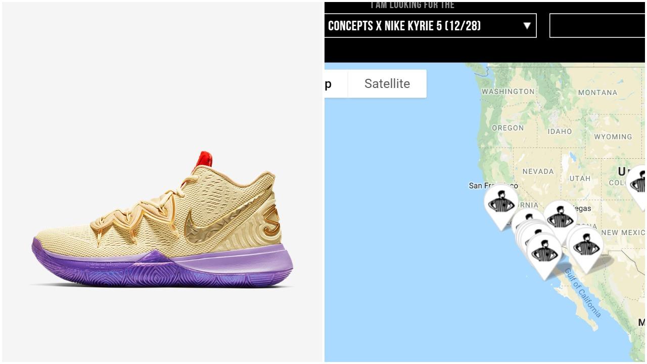 promo code 72010 6797c Concepts x Nike Kyrie 5 Ikhet CI9961-900  How Many Pairs Made   Market  Value – Housakicks