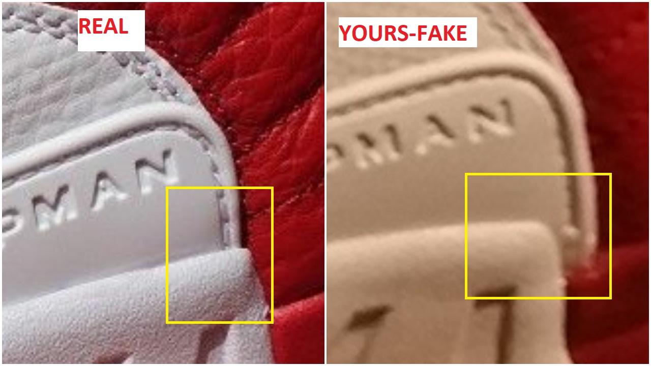 47213ae1f07 Quick Ways To Spot The Fake Air Jordan 12 Alternate Gym Red – Housakicks