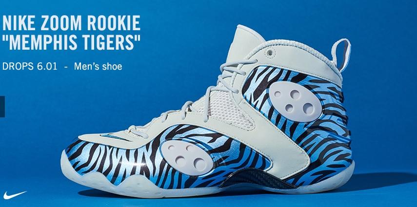 Nike Zoom Rookie PRM Memphis Tigers CJ0171-001