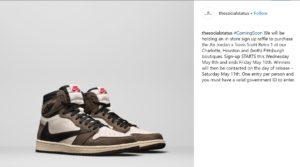 Travis Scott X Air Jordan 1 CD4487 100 how many pairs possibly made