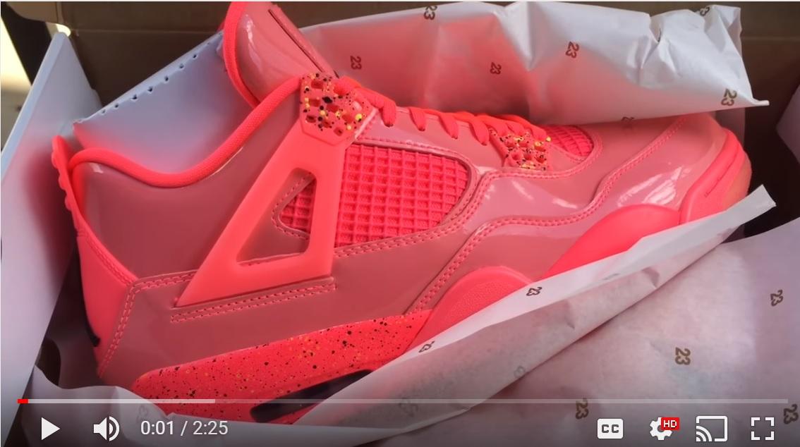 373626b9e6c00 Quick Look AT Women's Air Jordan 4 Hot Punch AQ9128-600 | Buy It Now ...