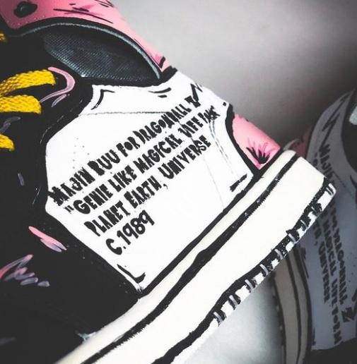 Majin BUU Off White DBZ inspired sneaker 1