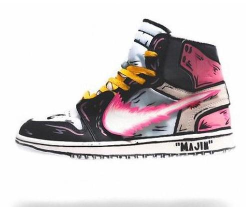 Majin BUU Off White DBZ inspired sneaker