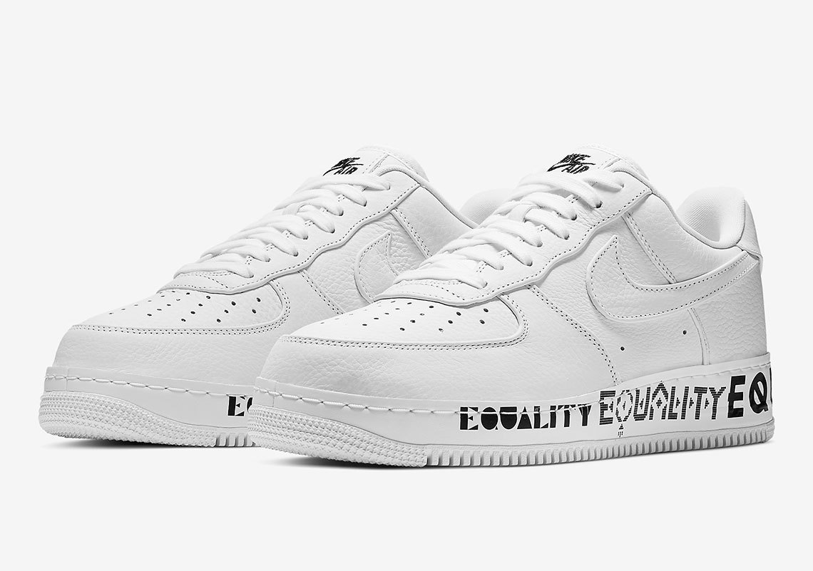 Nike Air Force 1 Equality White AQ2118-100