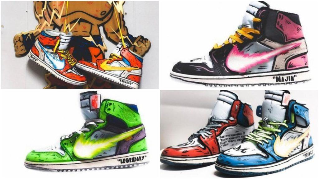 a73ba3ed775 The Custom Jordan 1 Dragon Ball Z Themed Sneakers Are More Impressive Than  – Housakicks