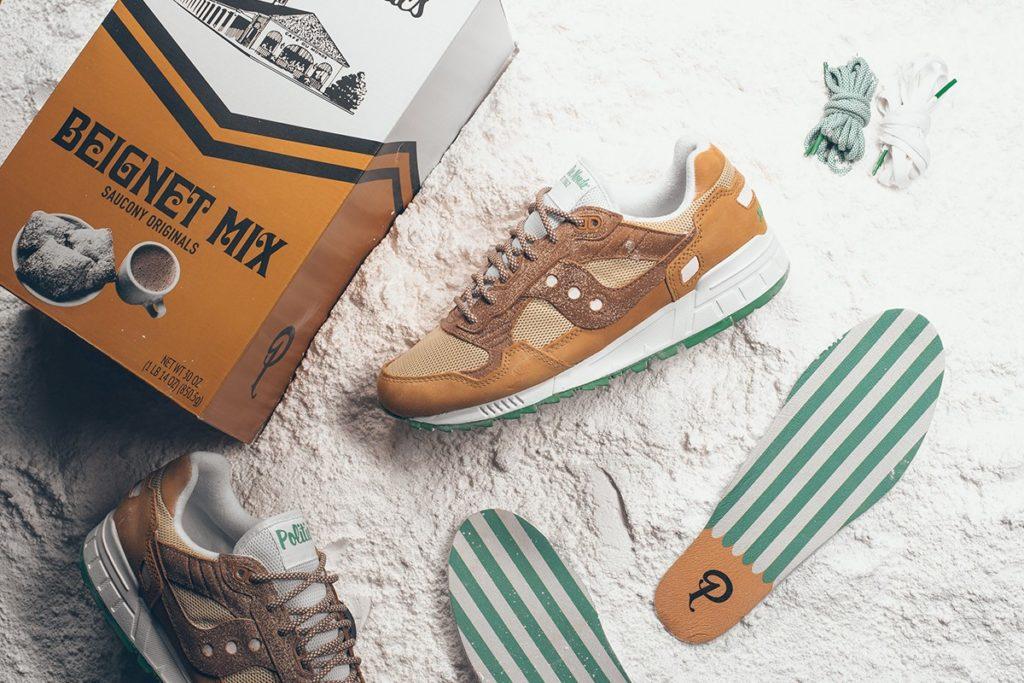Sneaker Politics x Cafe Du Monde x Saucony Shadow 5000 S70474-1