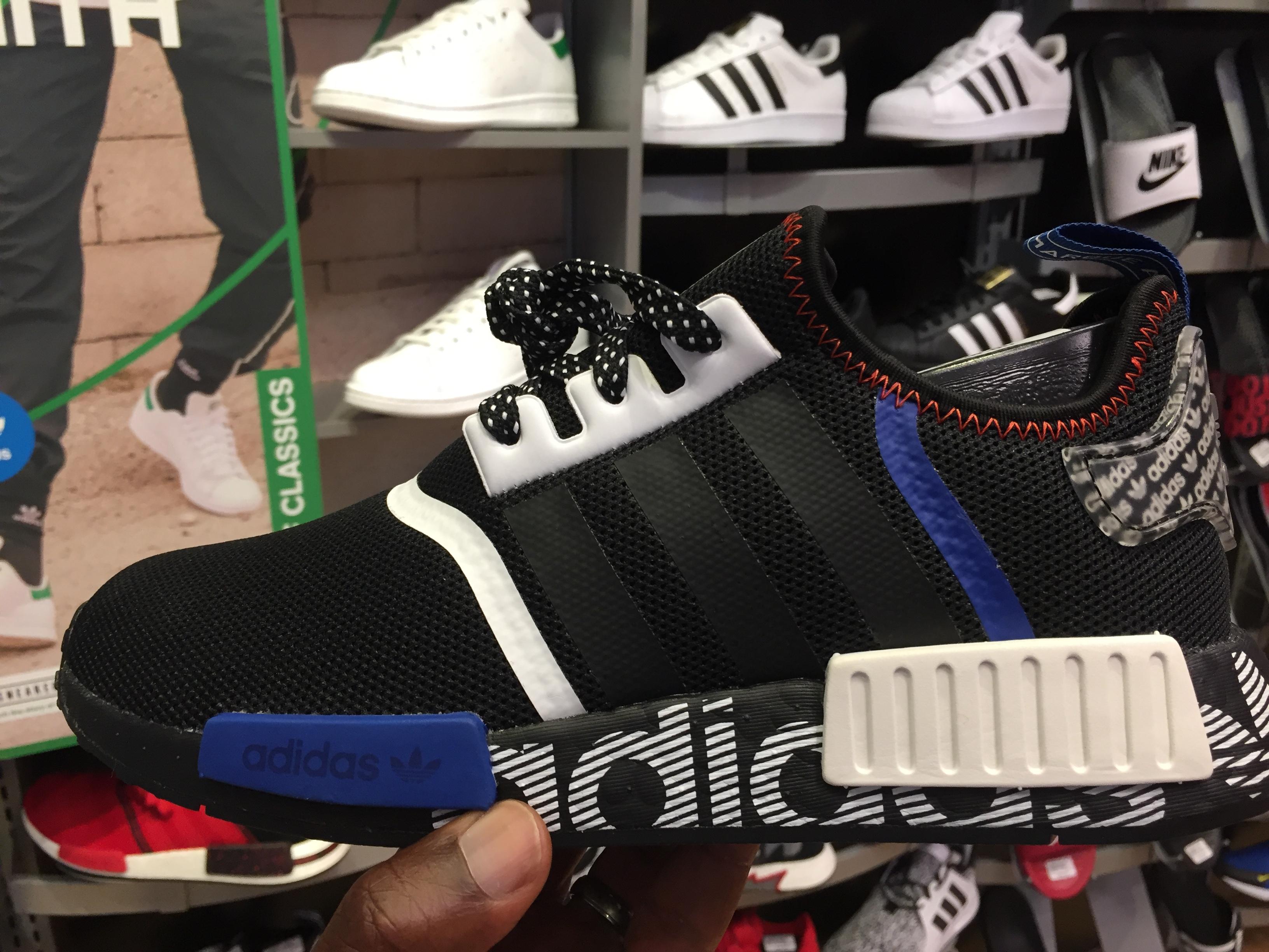 Adidas NMD R1 DSTN Black White FV5215