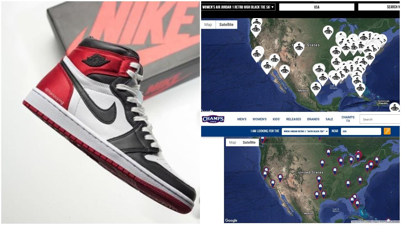 Air Jordan 1 Satin Black Toe CD0461-016| How Many Pairs Made ...