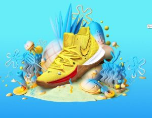 Nike Kyrie 5 Spongebob Squarepants CJ6951-700