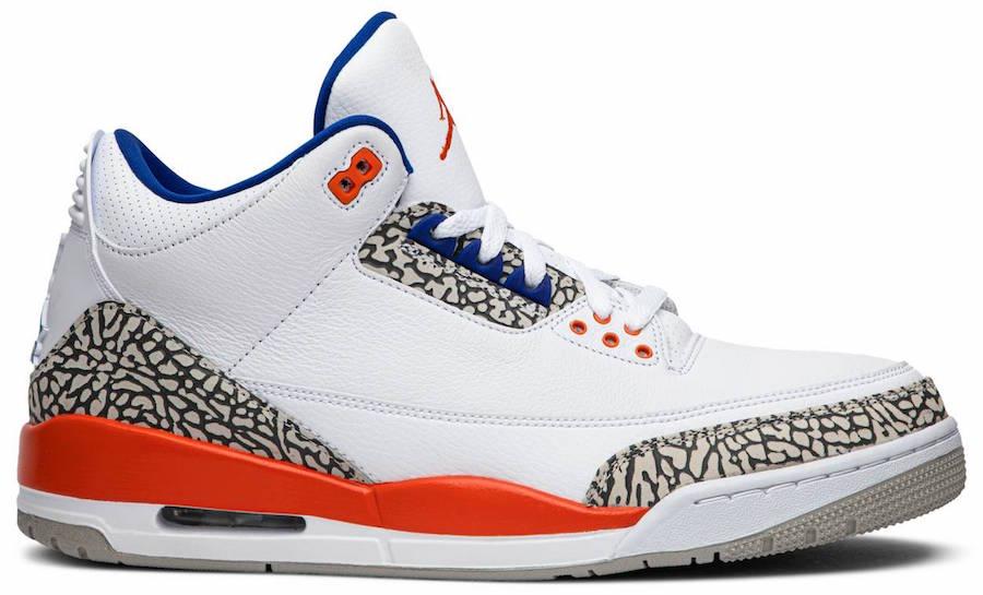 Air Jordan 3 Knicks 136064-148 HOW MANY PAIRS MADE