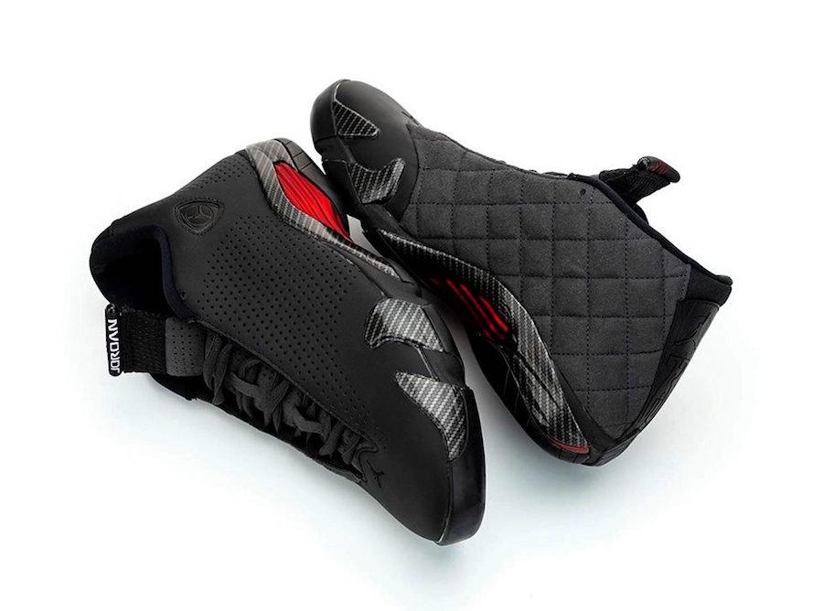 Air Jordan 14 Black Ferrari BQ3685-001