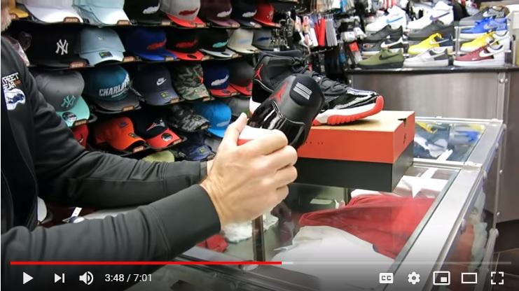 A Closer Look At The Air Jordan 11 XI Bred Black Red