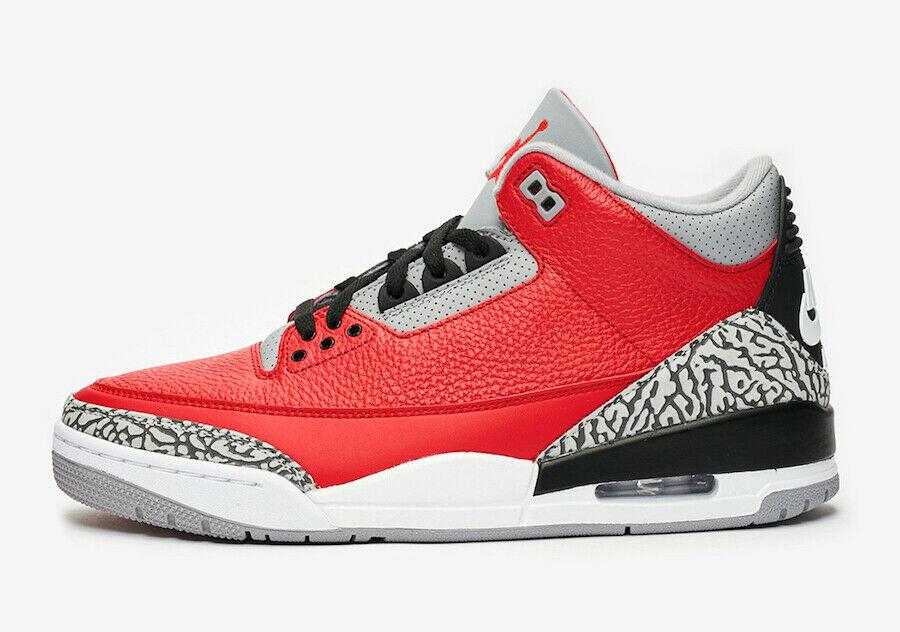 Air Jordan 3 SE Red Cement CK5692-600