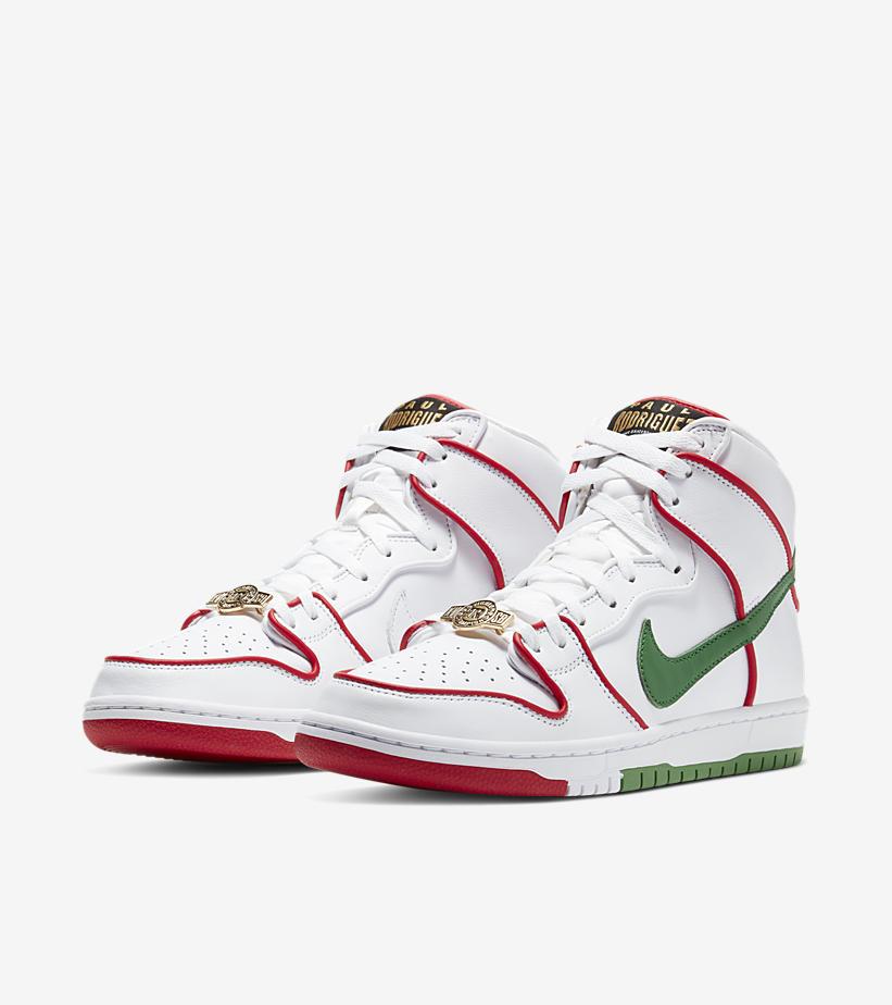 "Nike Dunk SB High Paul Rodriguez CT6680-100 ""Mexico"""