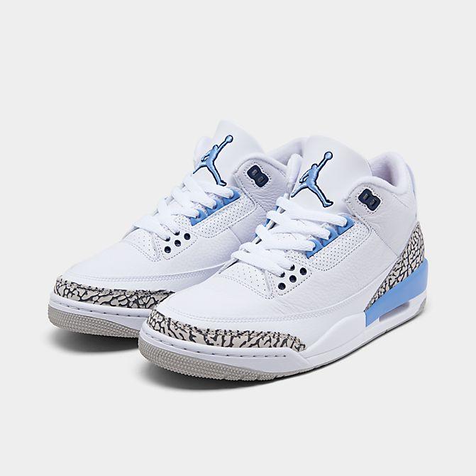 Air Jordan 3 UNC Carolina White Blue CT8532-104 1