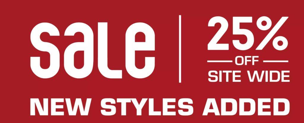 sale 25% Off Sneakers, Apparel & More On Major Brands Nike, Adidas, NB, Jordan Retros
