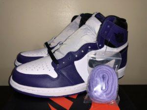 Air Jordan 1 High Court Purple 555088-500