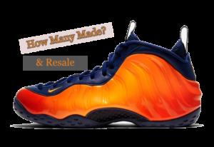 Nike Air Foamposite One Rugged Orange CJ0303-400 how many pairs made