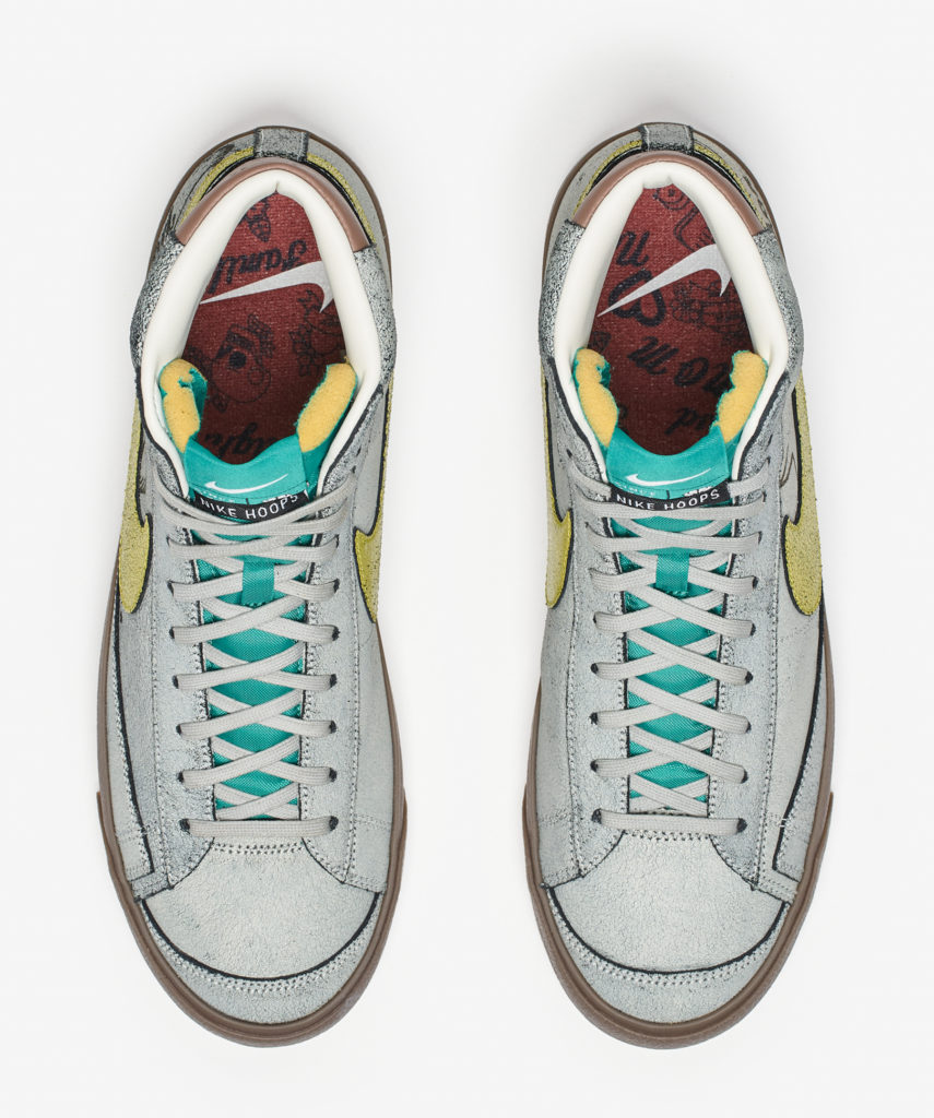 Nike Blazer Mid 77 topview